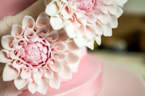 Dahlia Ascot Hat Celebration Cake
